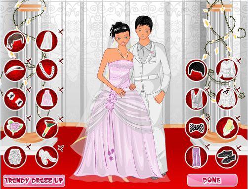 Jeu de fille Jeu d'habillage de mariage pour couple ️