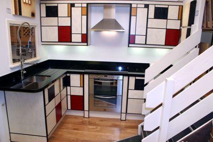 plongez la maison dans l 39 univers de mondrian. Black Bedroom Furniture Sets. Home Design Ideas