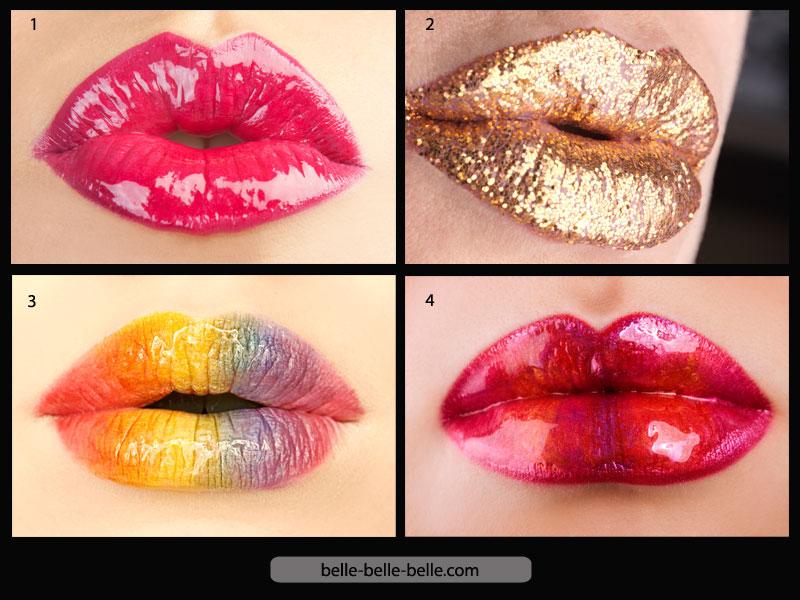 Célèbre Le maquillage des levres ❤️ BF03
