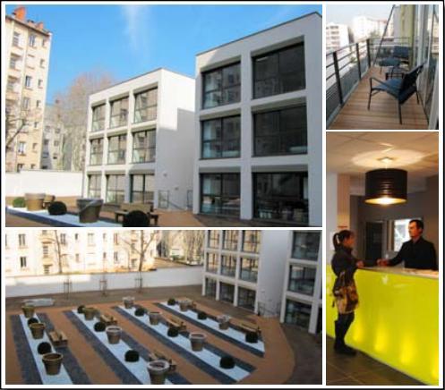 Aparth tel lagrange city ouvre ses portes lyon for Aparthotel lyon