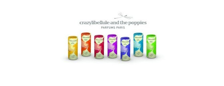 Crazylibellule and the poppies, les parfums révolutionnaires en stick