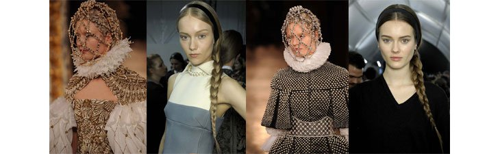 Paris Fashion Week 2013 / 14 - Alexander McQueen et Valentino