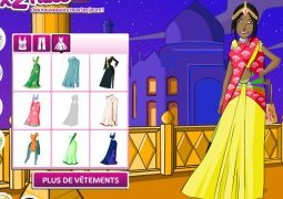 Jeu d'habillage India Dress Up