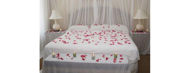 Faire De Sa Chambre Un Cadre Romantique Pour La SaintValentin - Romantiques idees de decoration de chambre pour saint valentin