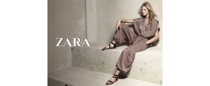 Zara, collection printemps-été 2010