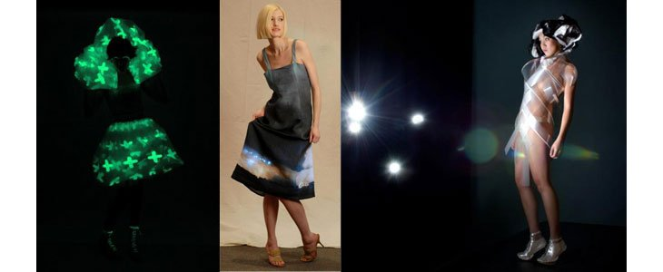 Des innovations hors du commun : Tenue amincissante, robe photoluminescente...