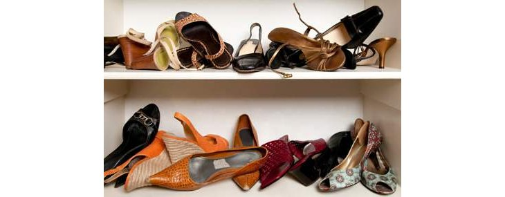 astuces pour le rangement des chaussures inutilis es. Black Bedroom Furniture Sets. Home Design Ideas