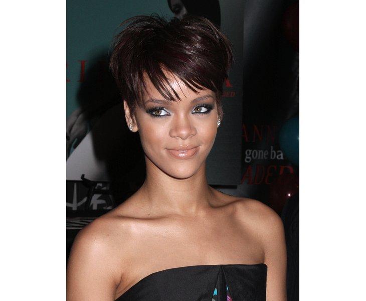 Photo coiffure - Nouvelle coupe de cheveux de Rihanna ️