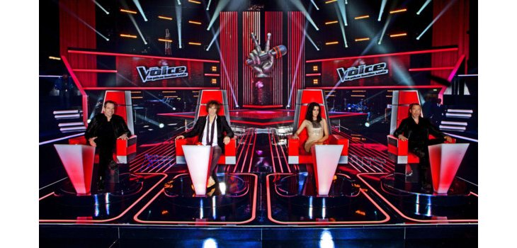 Les candidats de The Voice 2013