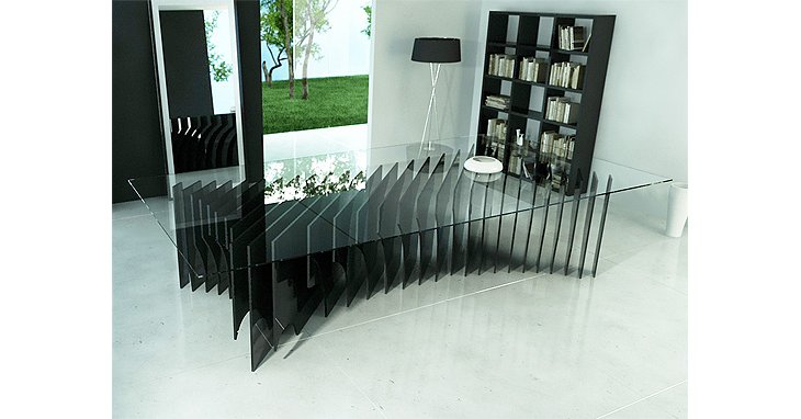 design futuriste table manger x29 de rlos design. Black Bedroom Furniture Sets. Home Design Ideas