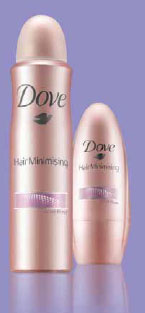 Hair Minimising : le nouveau déodorant de Dove
