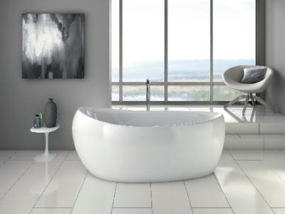 la baignoire ilot, la nouvelle star des salles de bains ❤️ - Salle De Bain Avec Baignoire Ilot