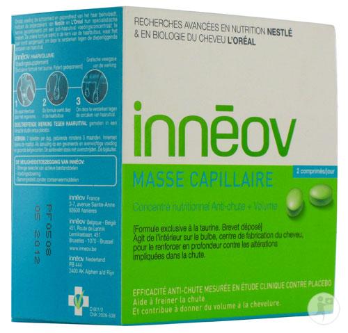 Innéov traite la chute des cheveux de l'intérieur