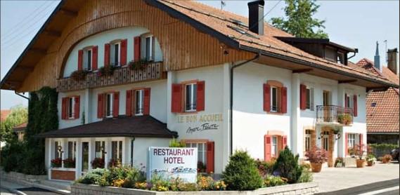 Hebergement gourmet hôtel le Bon Accueil 3 étoiles - Doubs